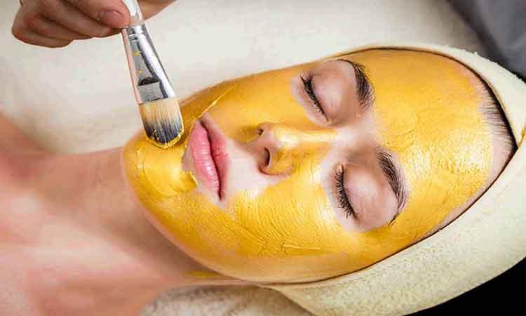 ماسک زردچوبه برای پوست درخشان تر