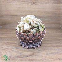 گل ختمی سفید سید عطار با کیفیت عالی و اعلاء